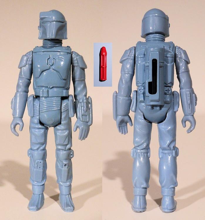 1979 Kenner Star Wars Non Firing Rocket Boba Fett